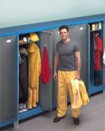 Шкафы металлические для одежды
